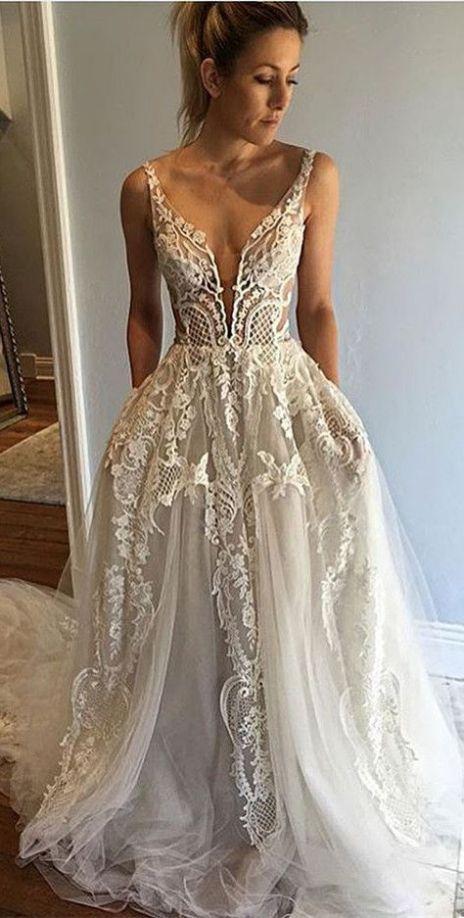 Kleid, Hochzeitskleid, Spitze Brautkleid, Spitzenkleid, ärmelloses Kleid, Hochzeit … – Zur Hochzeit – 2020 wedding dresses – Lisa Blog