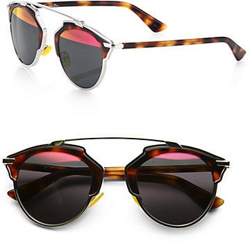 2abec0c132 PalmettoProper s list - Toucan  on shopstyle.com. Christian Dior Dior So  Real 48mm Pantos Sunglasses ...