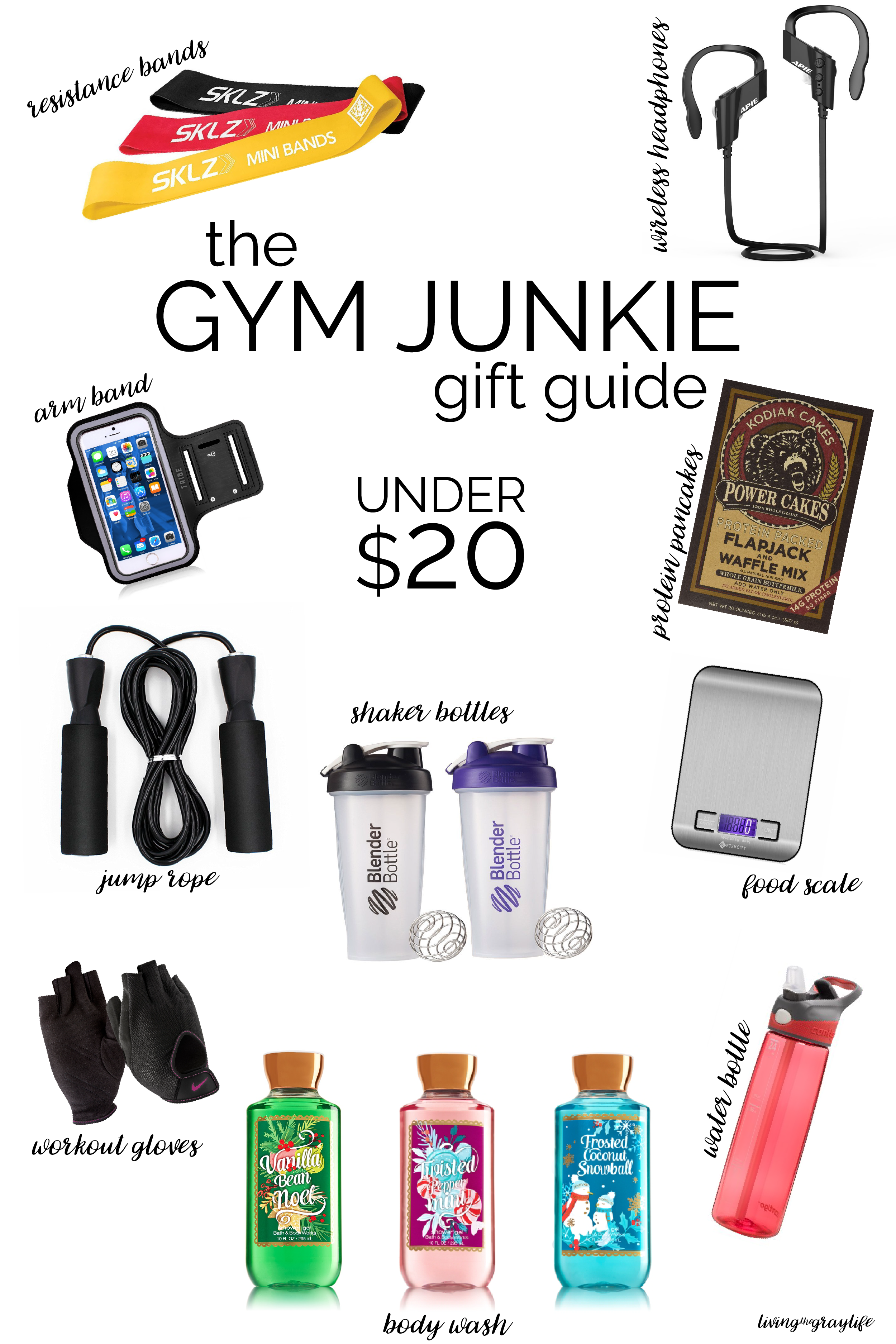A Gift Guide for the Gym Junkie | Living the Gray Life | Pinterest ...