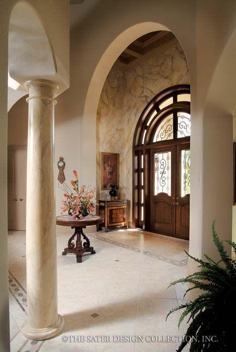 The Sater Design Collection\u0027s luxury, Mediterranean home plan
