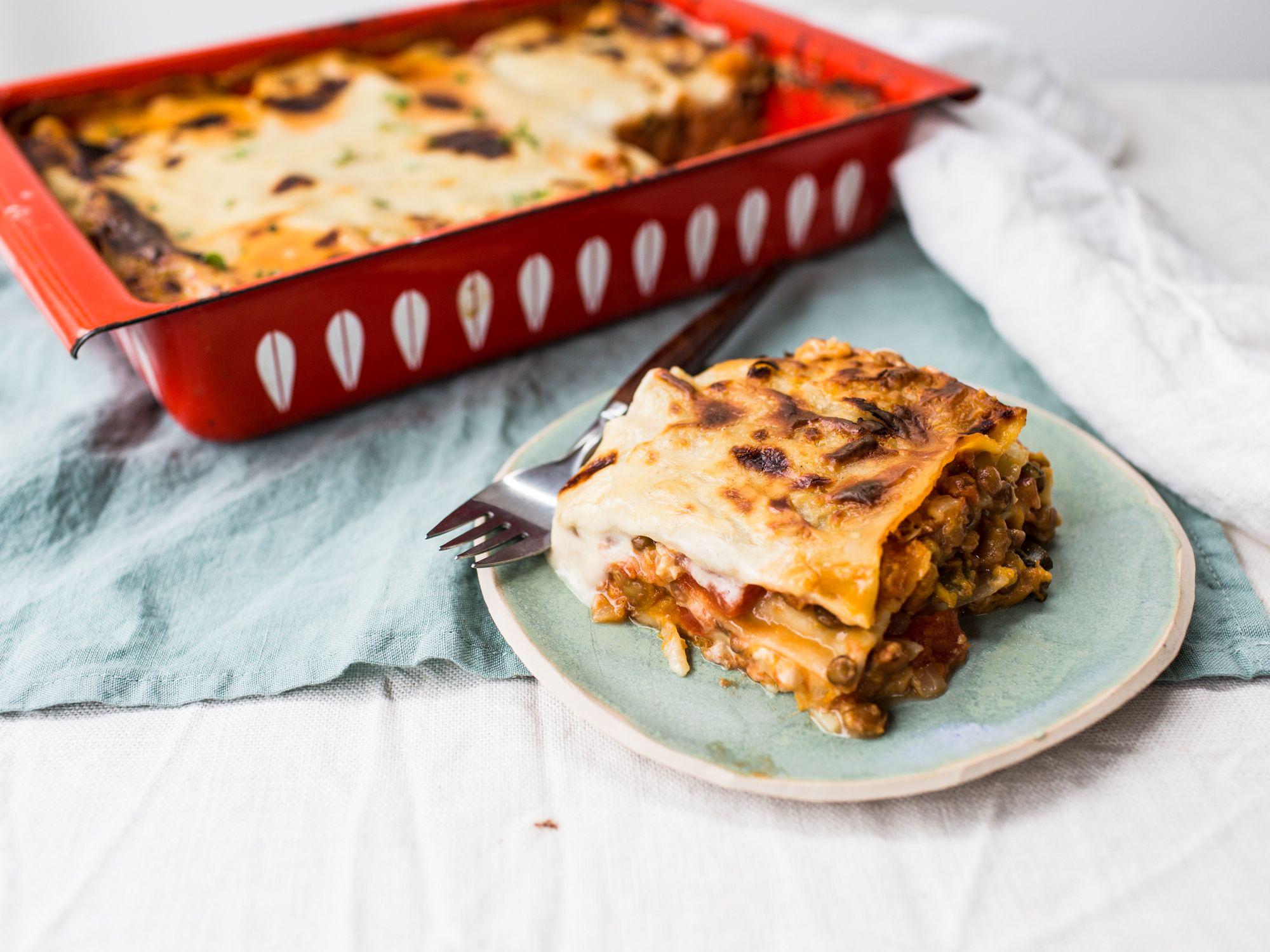 Pumpkin Lentil Lasagna Recipe Pasta Gnocchi Ravioli