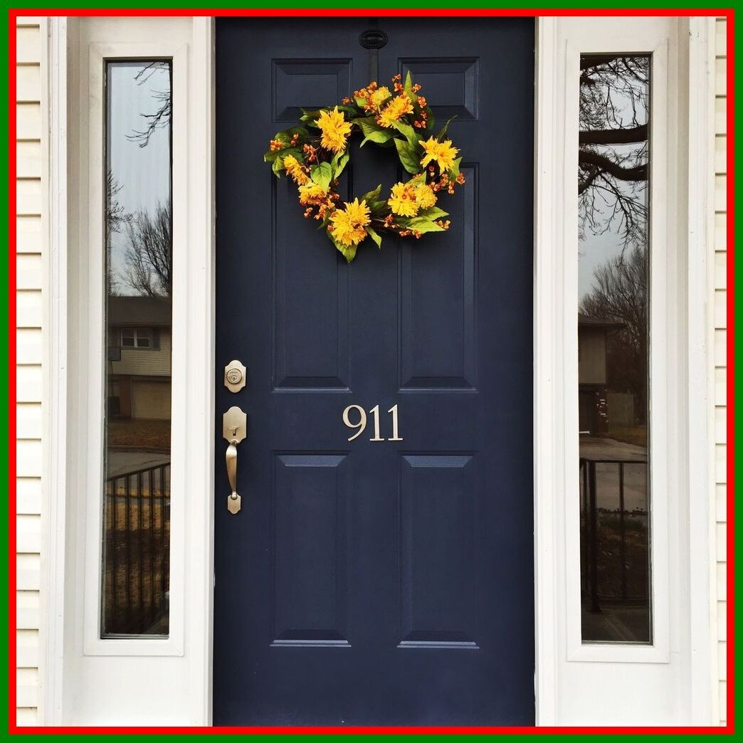50 Reference Of Navy Blue Front Door Meaning In 2020 Blue Front Door Painted Front Doors Front Door Colors