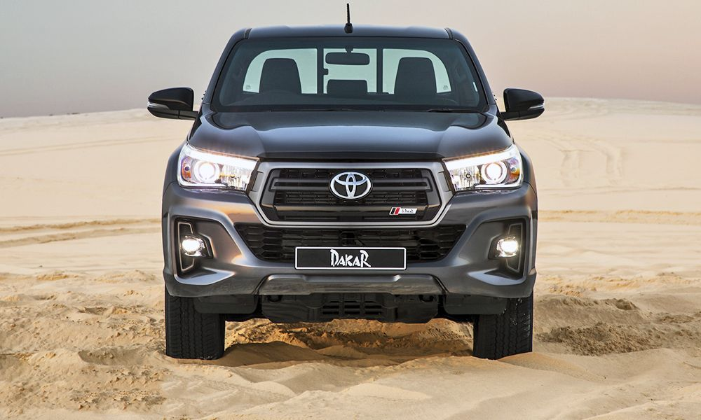 The New Toyota Hilux Dakar Has Launched In South Africa Toyota Hilux Toyota Dakar