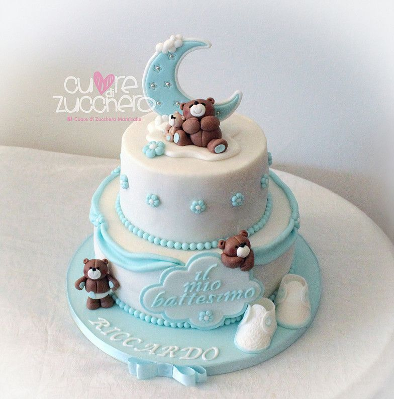 foto de torta battesimo bimbo Cerca con Google Idee pdz