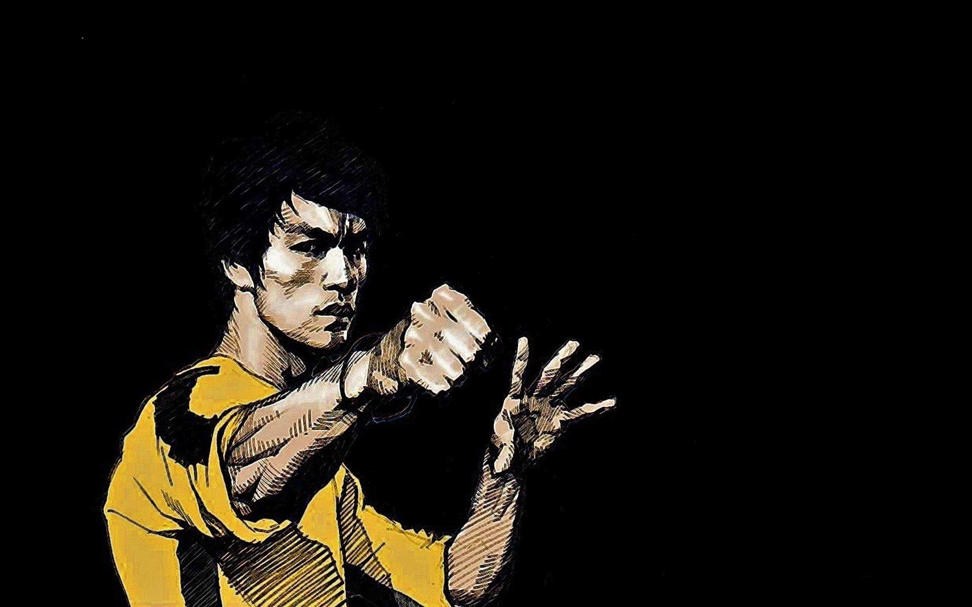 Zendha Bruce Lee Wallpaper
