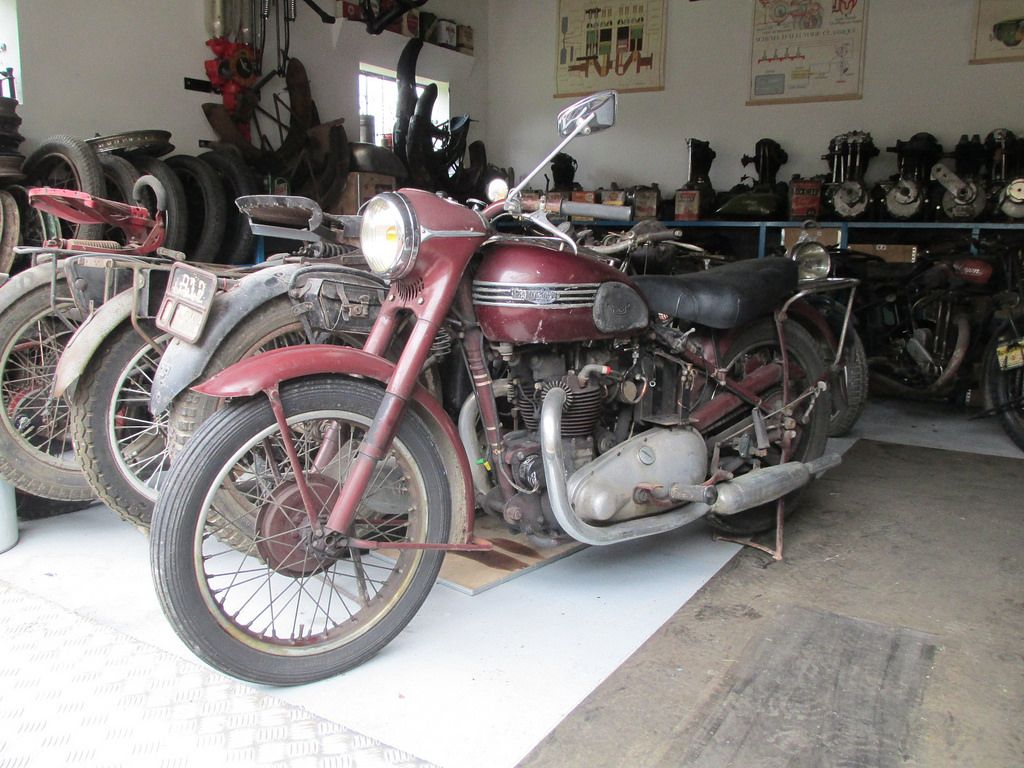 Triumph 5t Speed Twin 1952 500cc Ohv