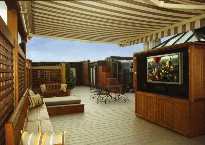 Terrassen » 28 Ideen Für Terrassengestaltung Auf Dem Dach #ideen #terrassen  #terrassengestaltung
