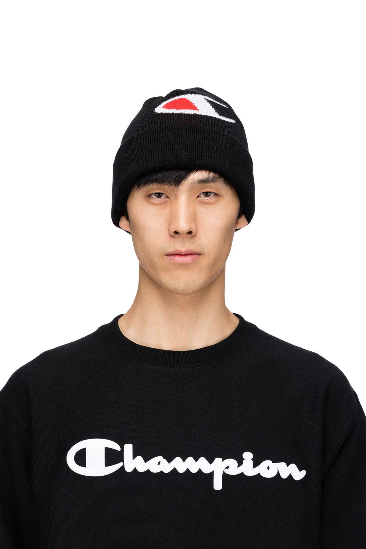90b81e63d4190 Champion - C Knit Beanie - Black