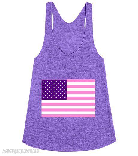 Pink and Purple American | Pink and Purple American Flag #Skreened