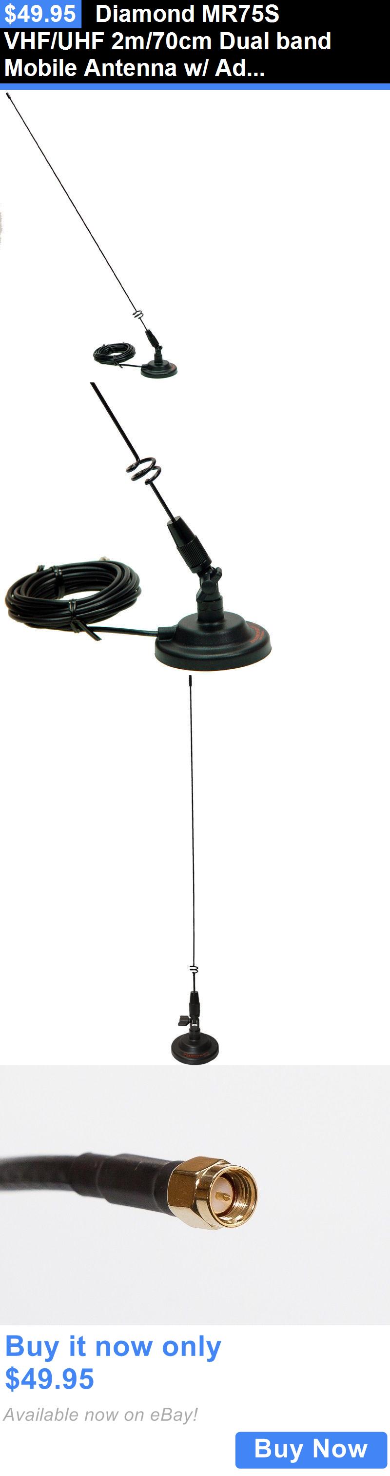 Ham Amateur Radio Antennas: Diamond Mr75s Vhf/Uhf 2M/70Cm