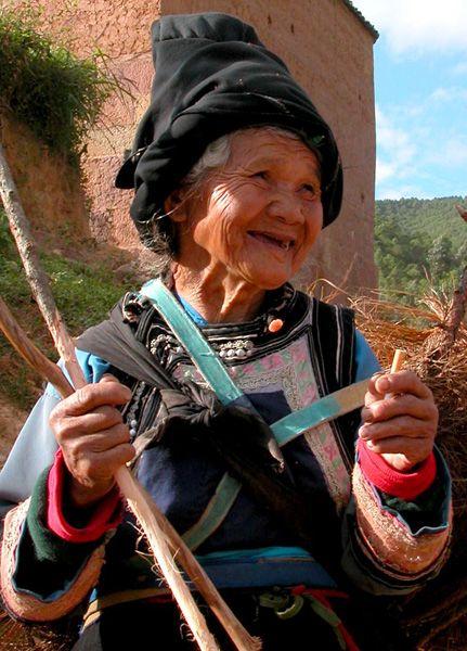 Happy Local near Dali, China