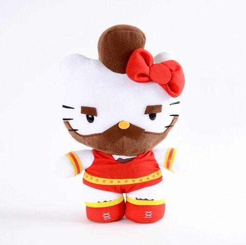 Hello Kitty Zangief Plush Hello Kitty Kitty Toys