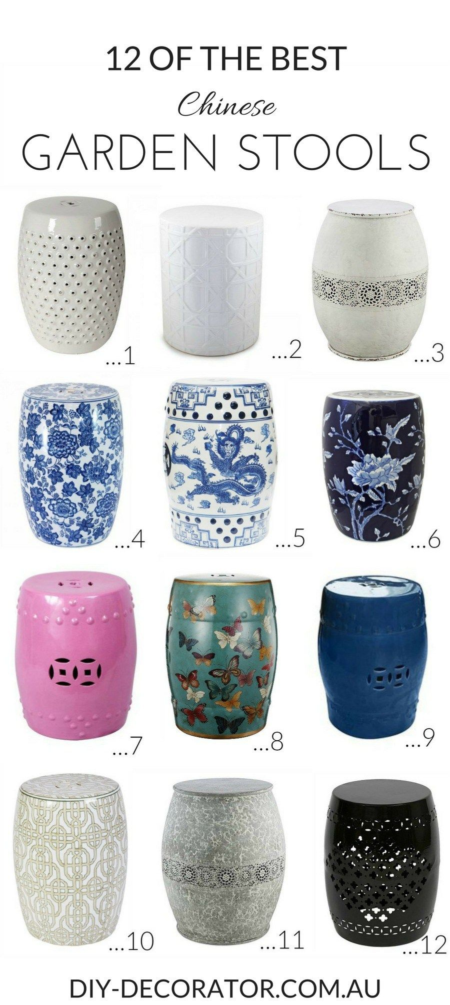 Fine Decorating With Chinese Garden Stools Barkley Residence Pabps2019 Chair Design Images Pabps2019Com