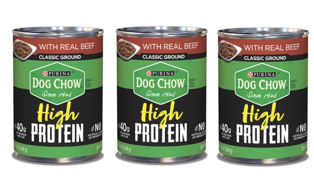 3 Free Purina Dog Chow High Protein Wet Dog Food Cans At Shoprite Ibotta Rebate Purina Dog Chow Dog Food Recipes Wet Dog Food