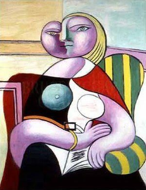 Picasso - La Lecture, 1932 (portrait de Marie-Thérèse Walter)   Art ...