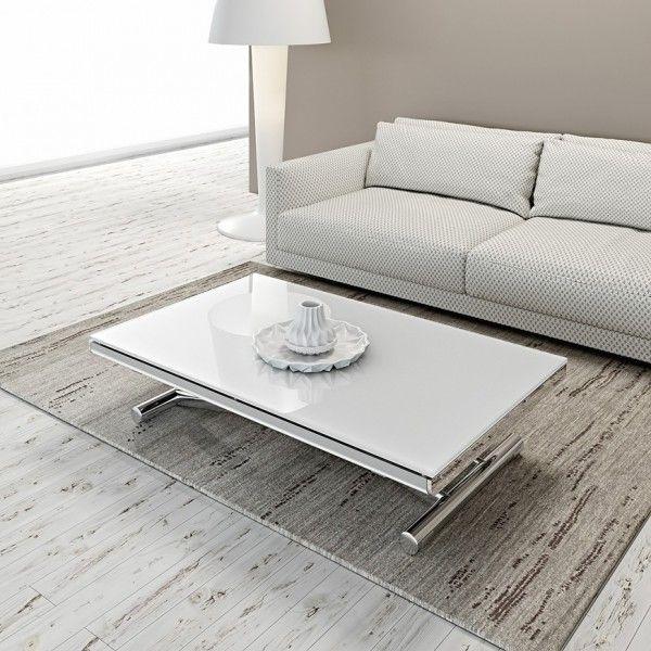 Table Relevable Et Extensible Etoile Table Relevable Extensible Mobilier De Salon Table Basse Transformable