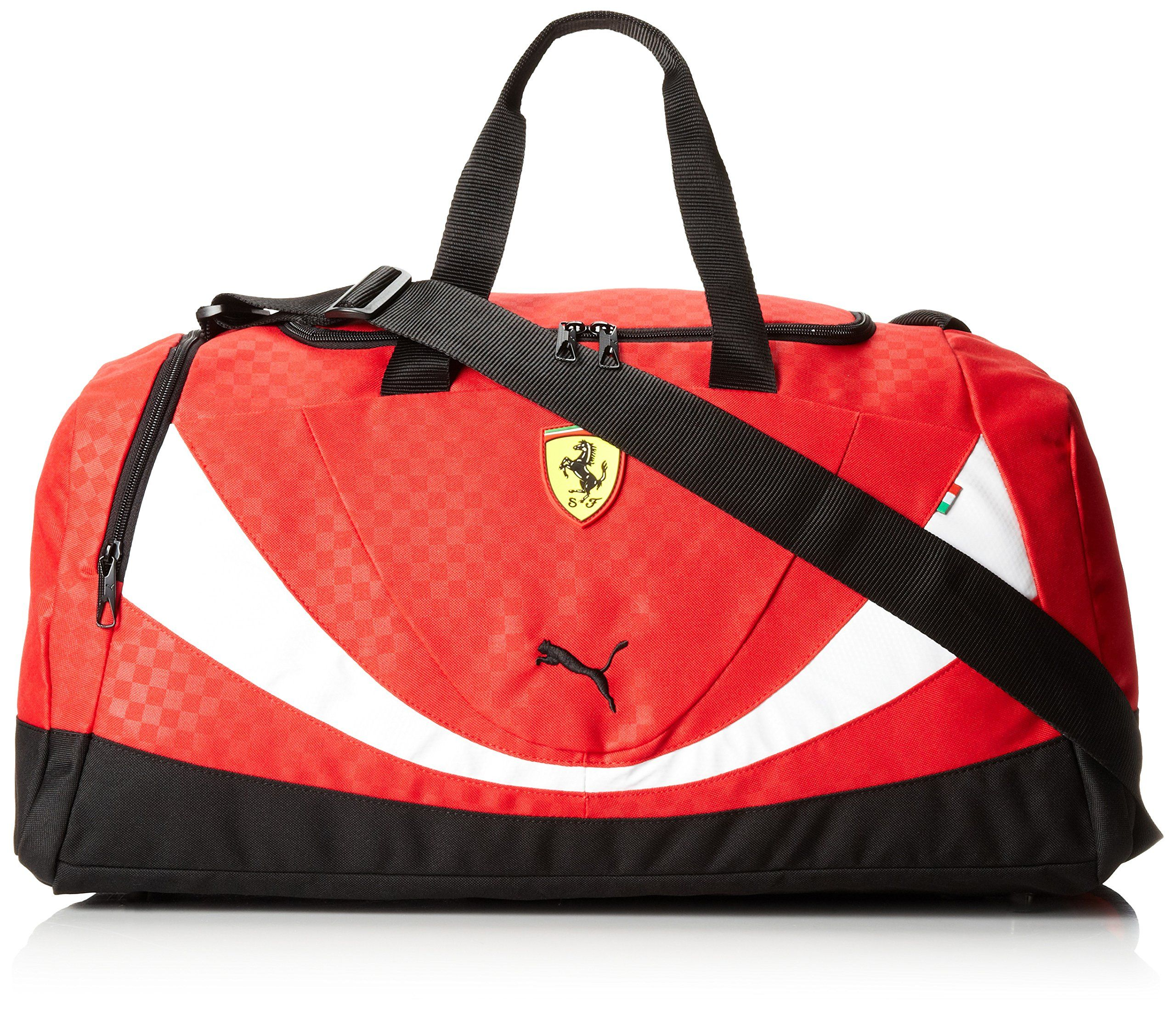 PUMA Mens Ferrari Replica Medium Teambag Red One Size