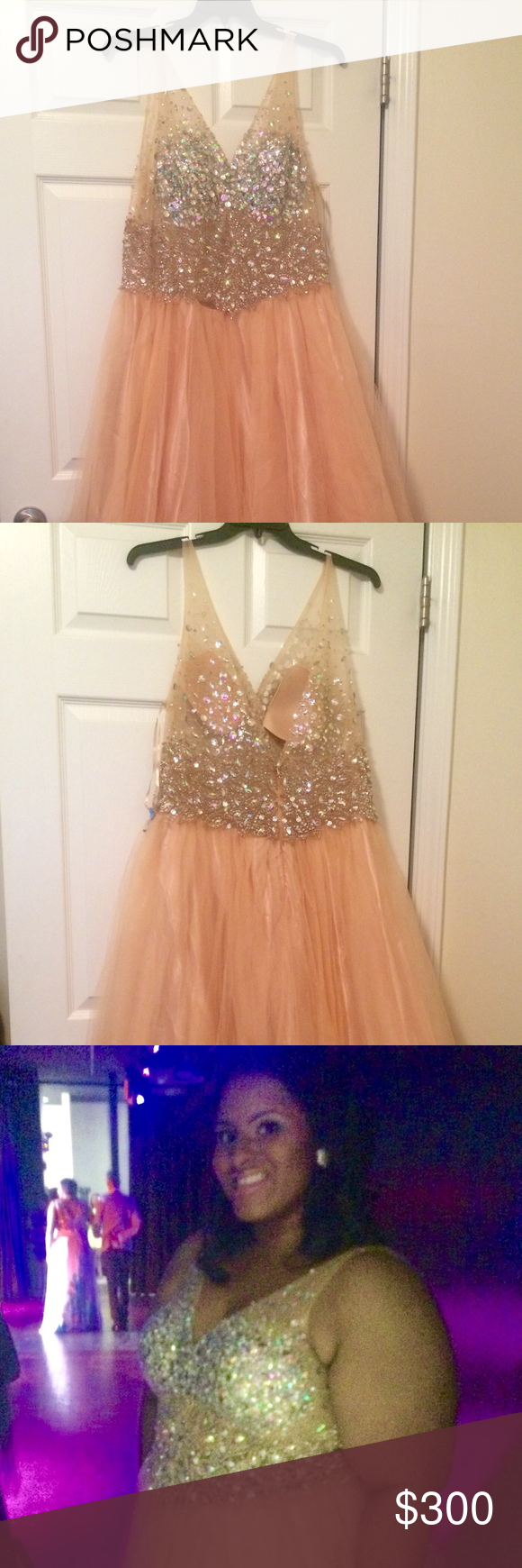 Davidus bridal pageantprom dress size new pageant dress can also