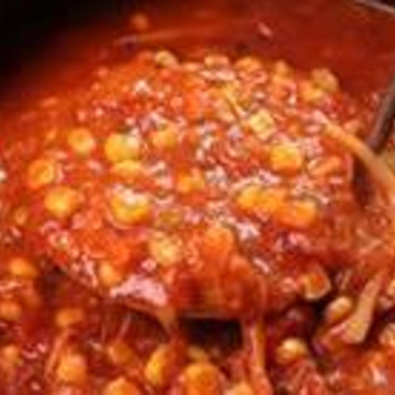 "Hearty Southern ""Smokey Bone's Brunswick Stew"