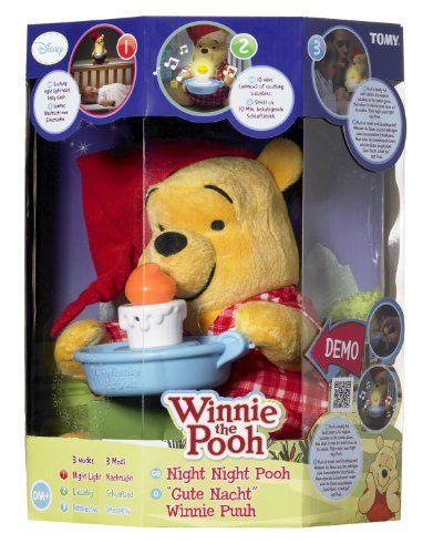 Peluche interactive «Bonne nuit Winnie» qui chante pour bébé | Idée Cadeau France