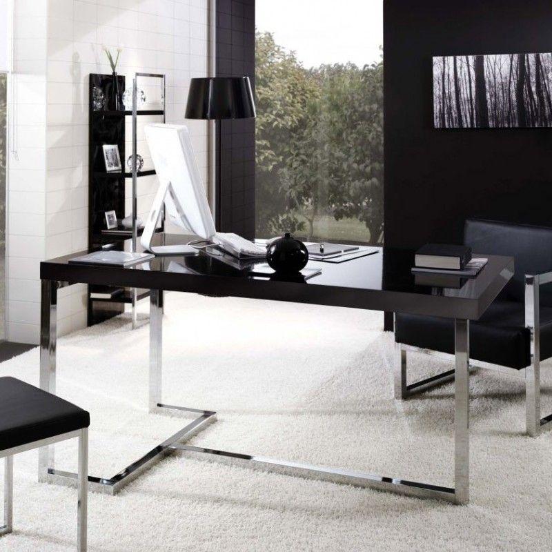 Lime mesa rectangular de dise o moderna y elegante con for Mesas escritorio modernas