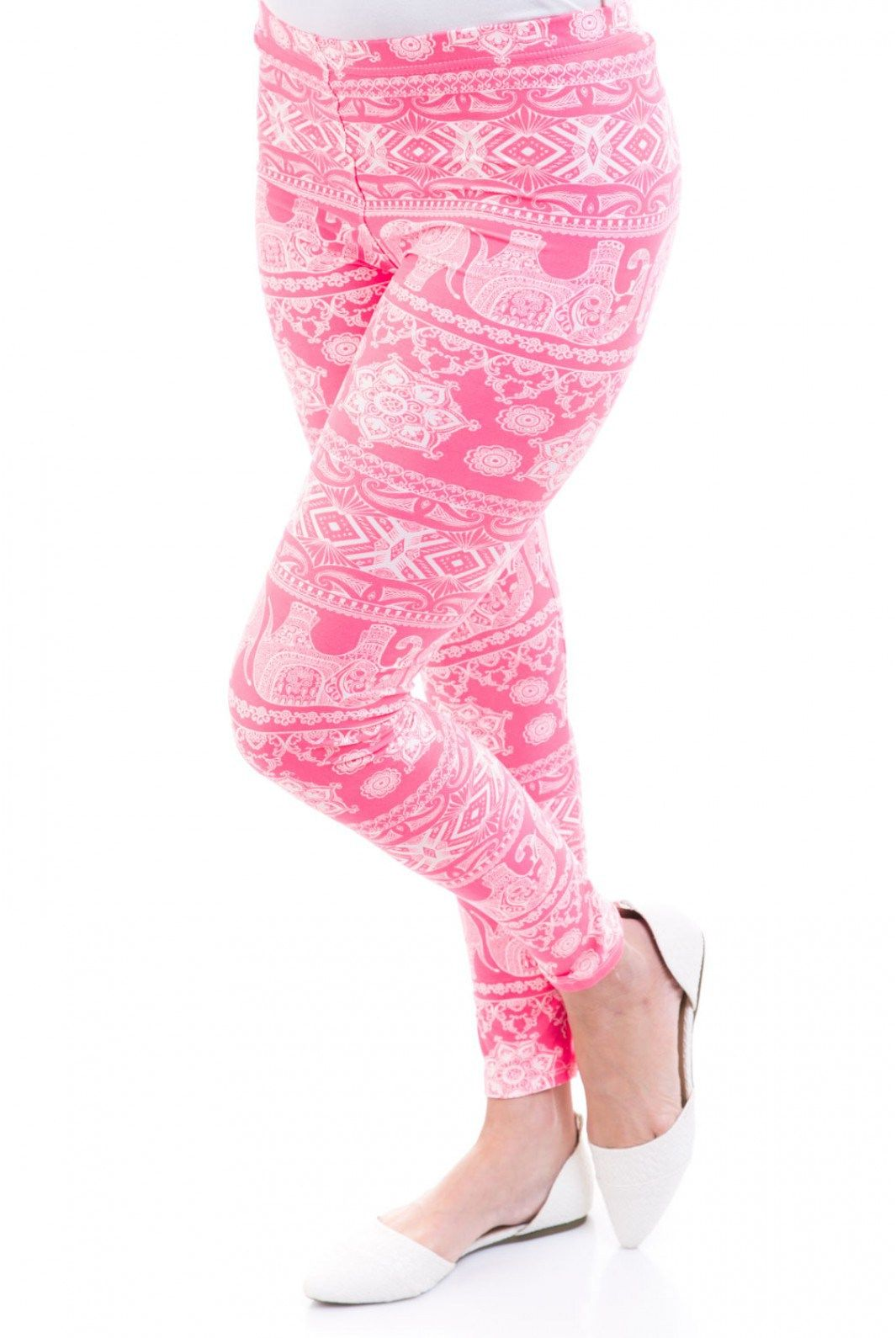 Type 1 Baby Elephant Walk Leggings In Pink - New Arrivals