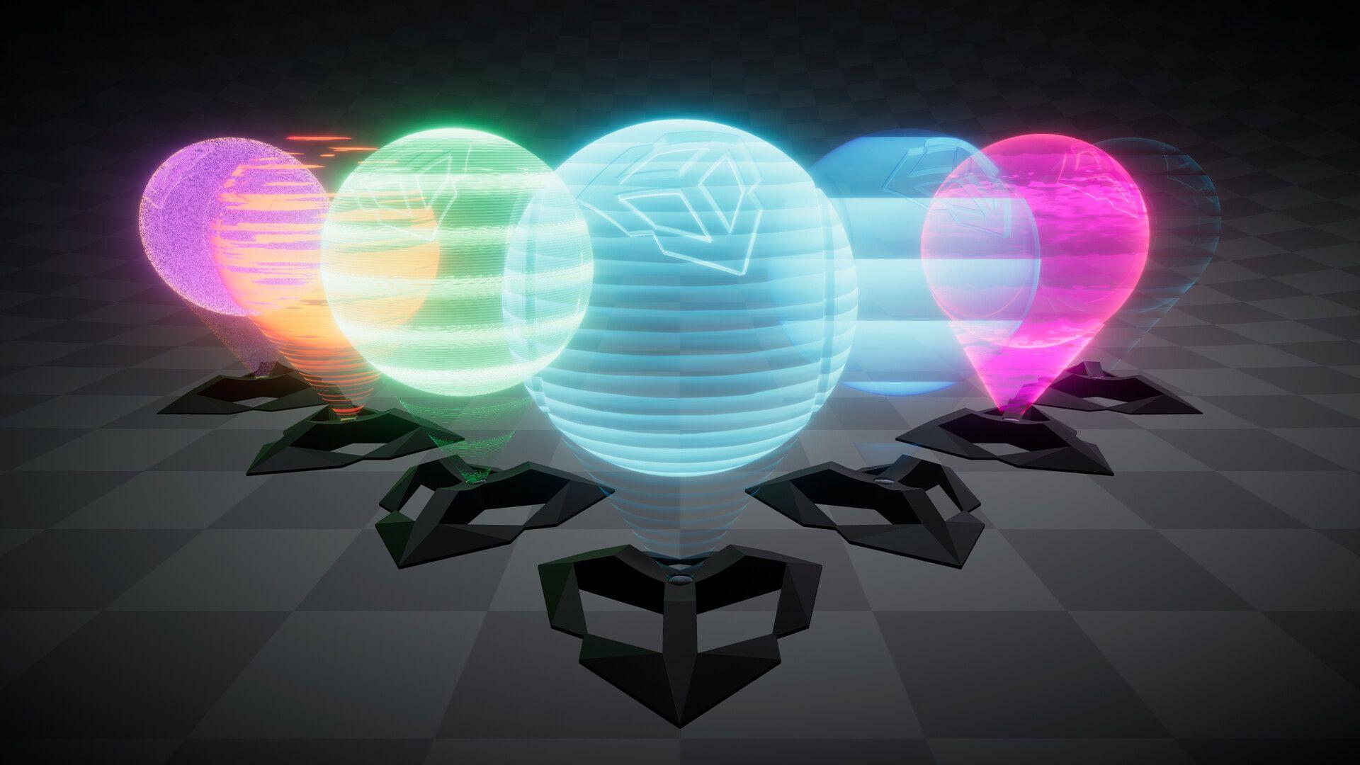 ArtStation - Procedural Hologram Shader, Nicholas Record