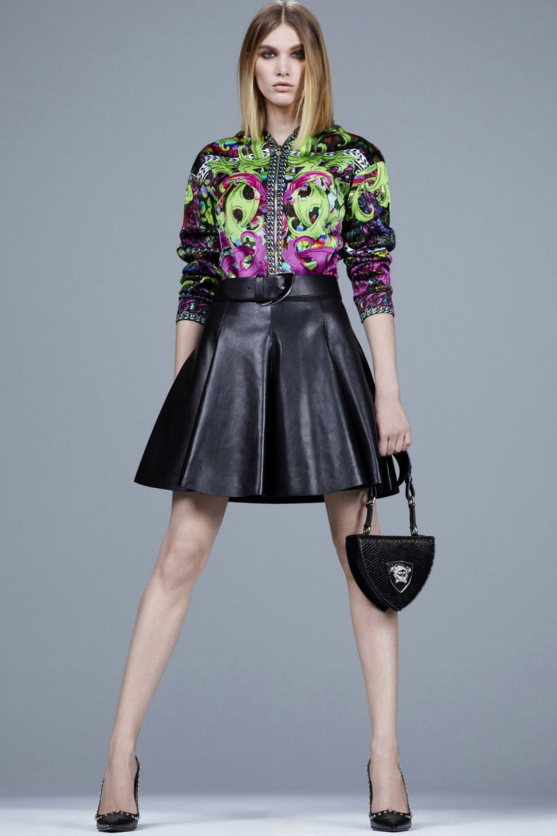 Versace Pre-Fall 2014 - Review - Fashion Week - Runway, Fashion Shows and Collections - Vogue