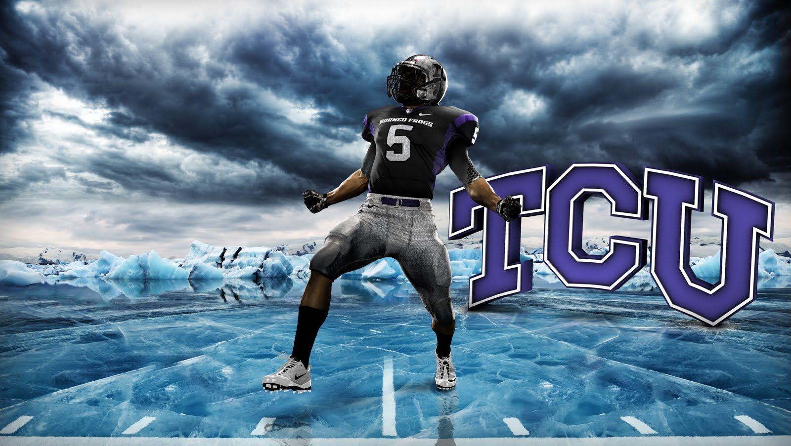 tcu pro combat sports football wallpaper college
