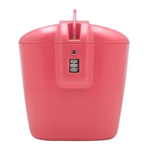 Vacation Vault Pink Travel Lock, the perfect little gift for ladies who love to travel. #homedepot