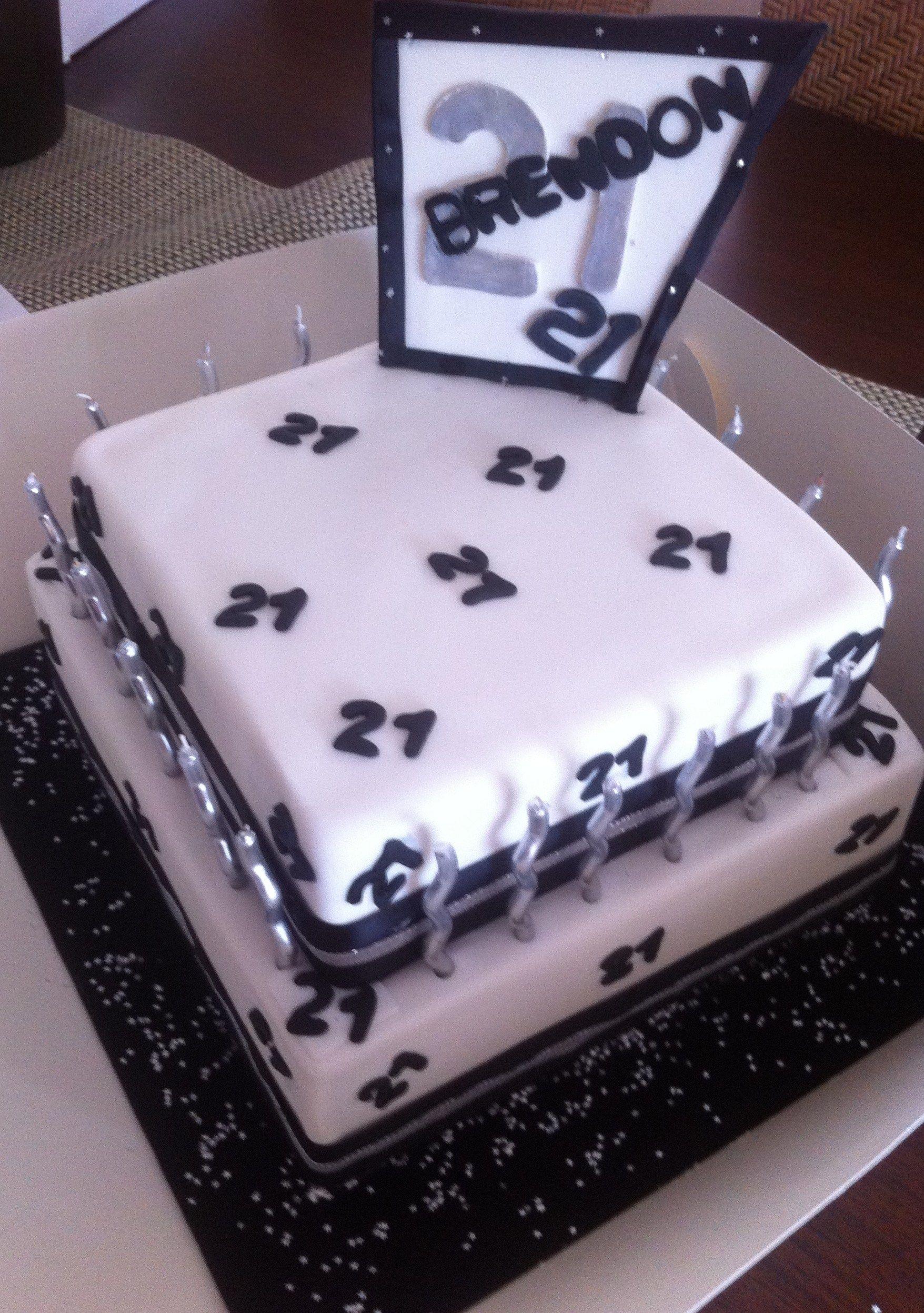 21st birthday cakes for guys kue