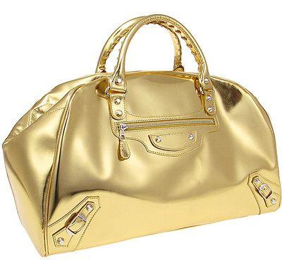 BALENCIAGA Gold Bag