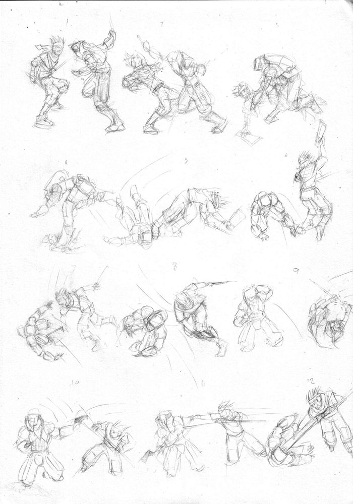 Fight Scene Choreography By Elskank Art Scene Choreography