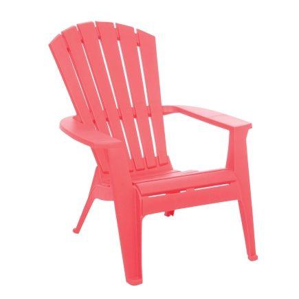 Adams Stacking Adirondack Chair In Honeysuckle Item No