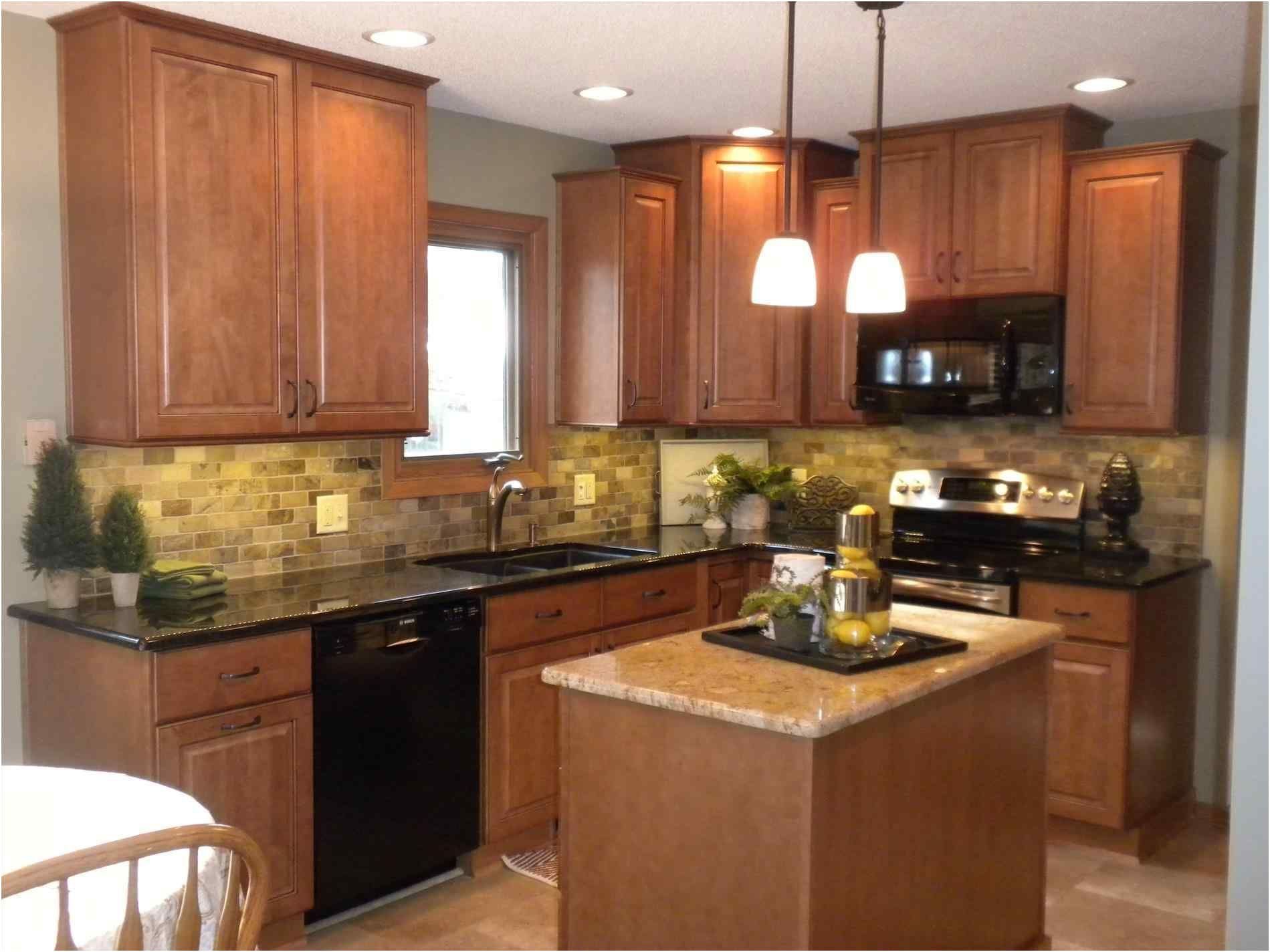 black stainless steel appliances with oak cabinets colors ...