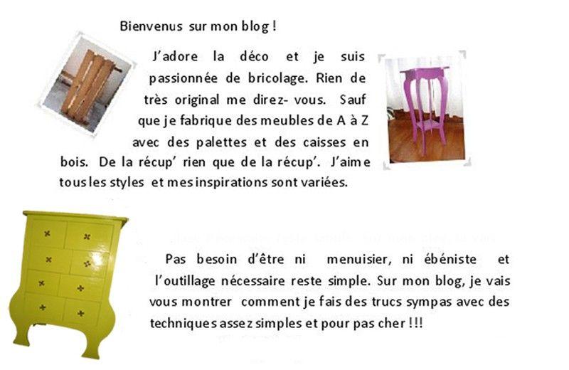 Abonnez Vous A Ma Newsletter En Haut A Le Blog De Bea Caisse Bois Mobilier De Salon Palette