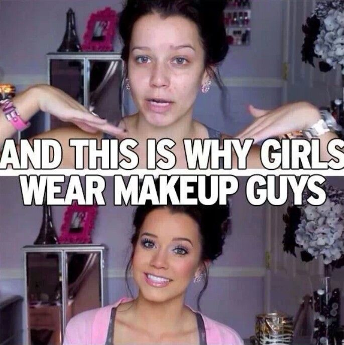 Correction This Is What Happens When You Wear Makeup So When You Take -4286