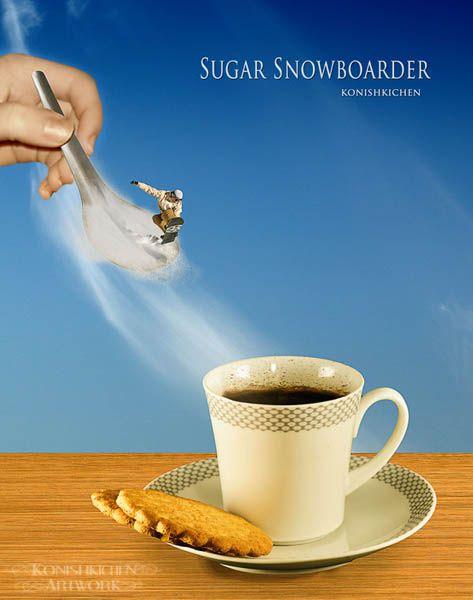 Sugar Snowboarder