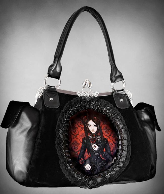 Red Doll Gothic Lolita Handbag
