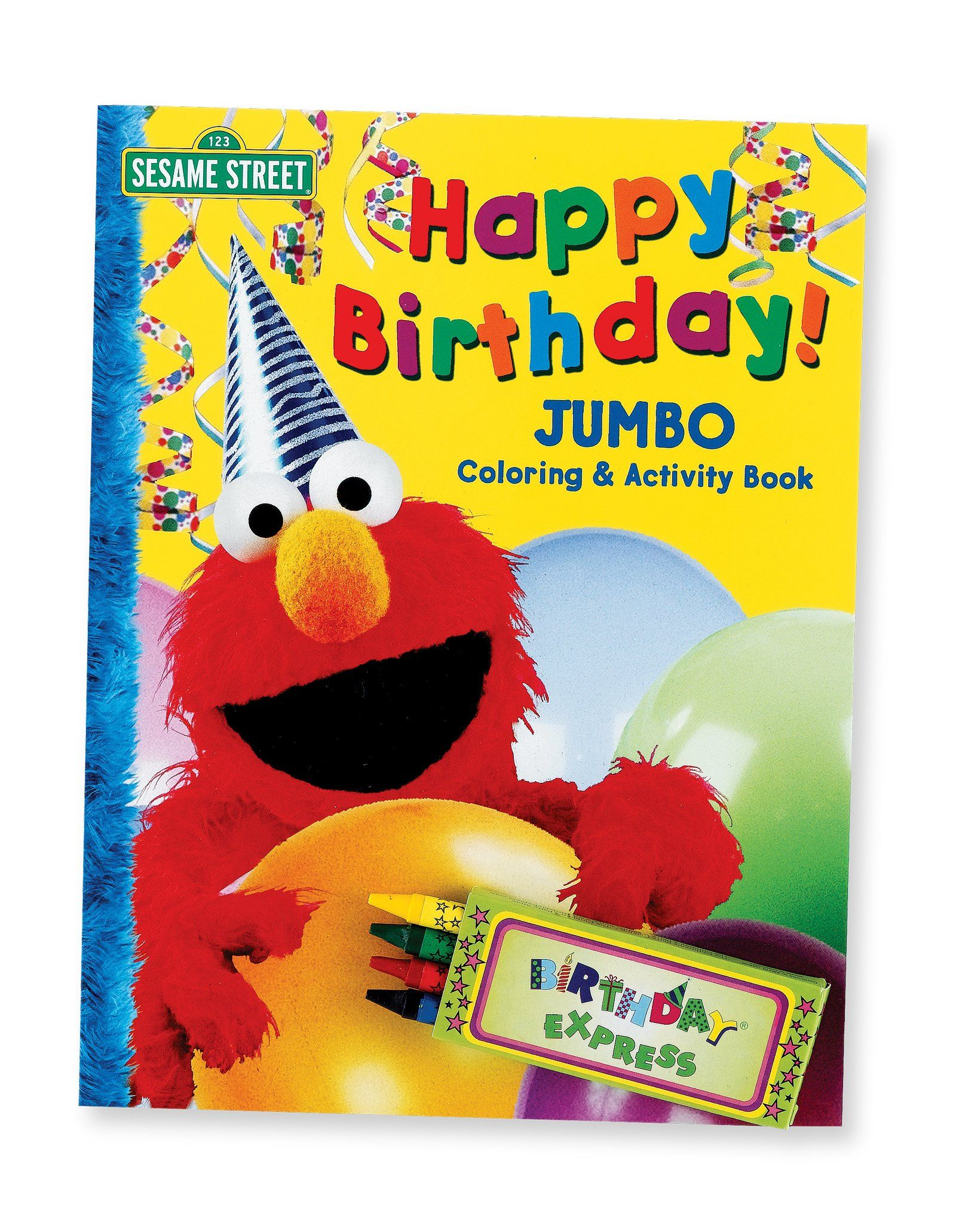 Primary Activity Book | Elmo, Favor bags and Sesame streets