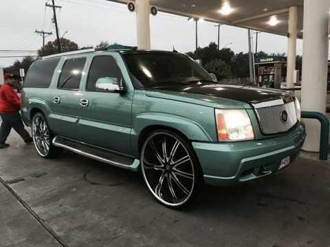 Cadillac Escalade On 30 Inch Rims | Cadillac Escalade 26 Inch Rims