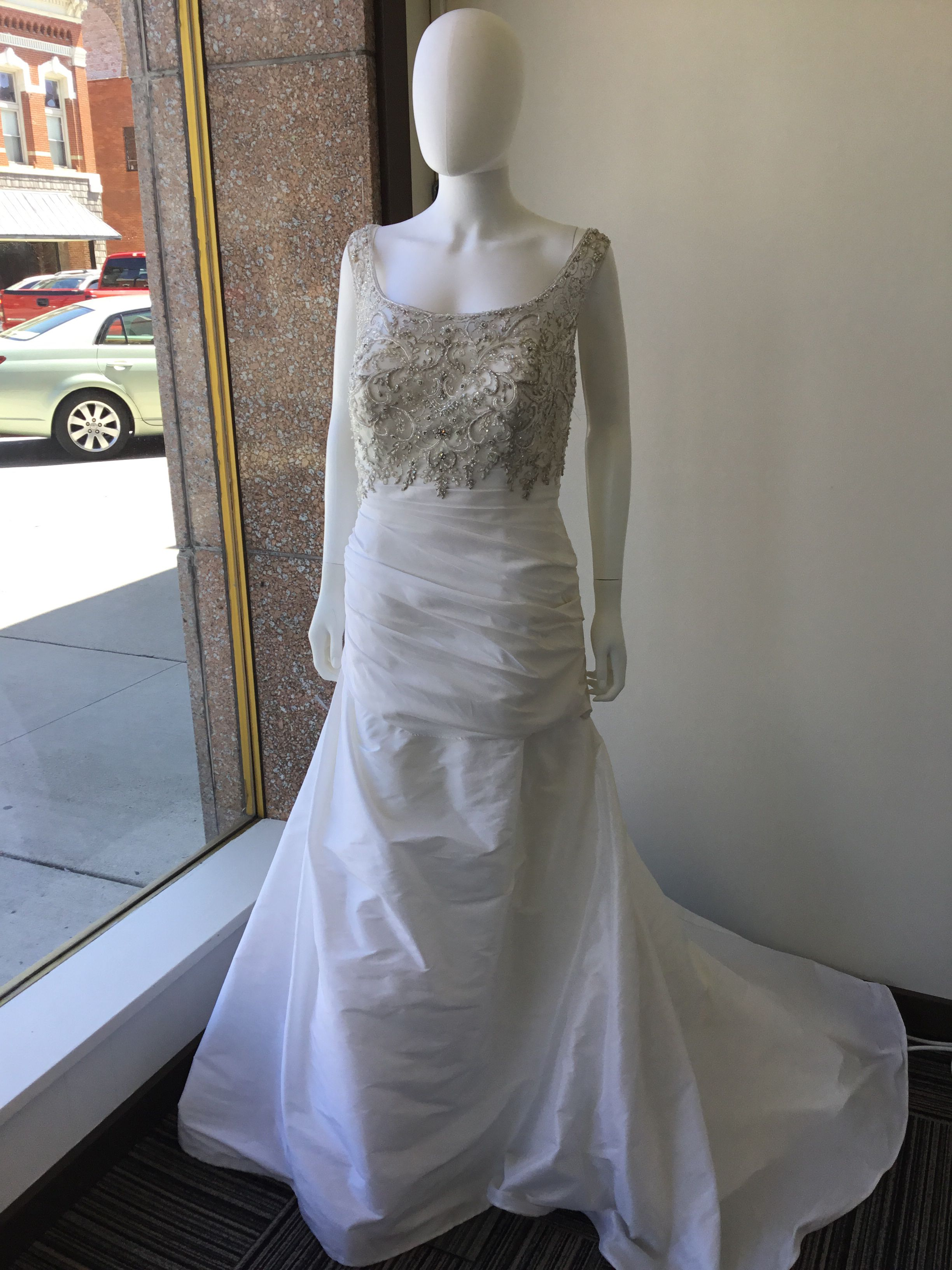 Casablanca Style 2027 Size 20, priced at 945 Wedding