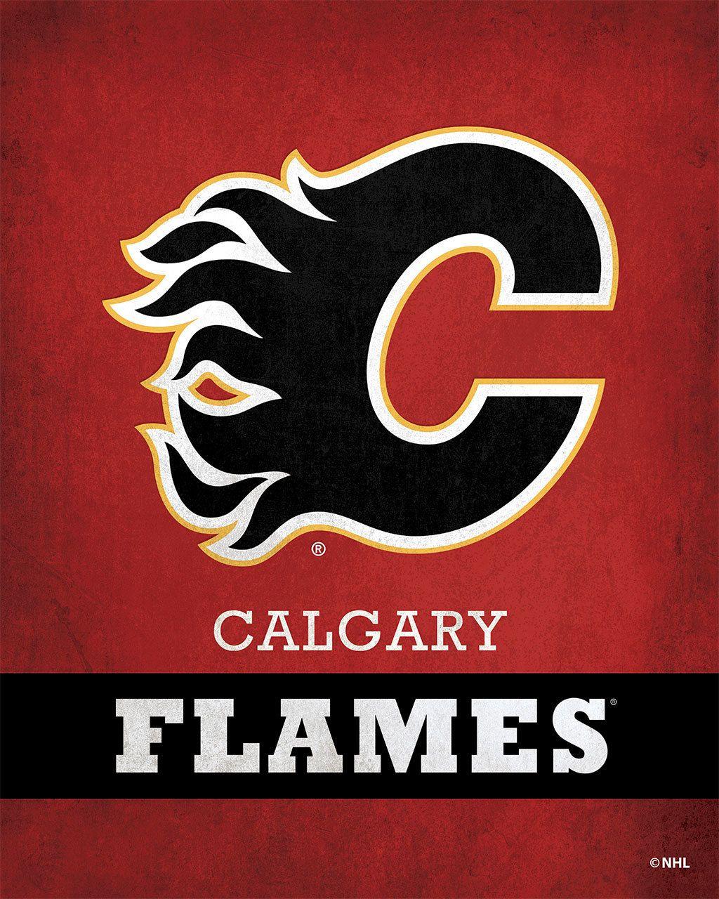 Calgary Flames Pride Logo - ScoreArt