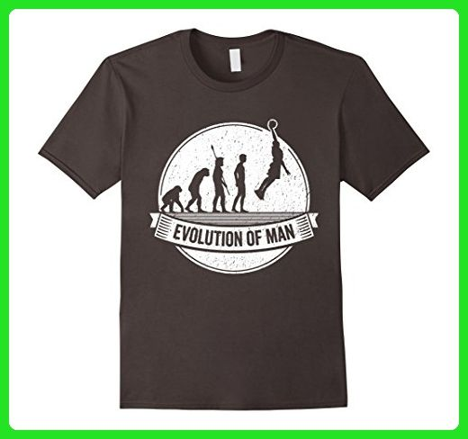 Mens Funny Bballer T Shirt: Basketball Evolution Streetball Tee 3XL Asphalt - Sports shirts (*Amazon Partner-Link)