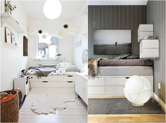 Build A Loft Bed Yourself With Ikea Furniture Beds With Storage