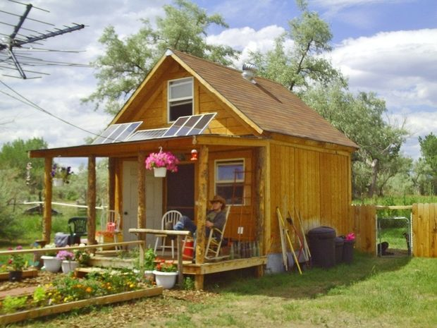 Tiny Home Designs: Thoreau Off-Grid Cabin Design Under $1000