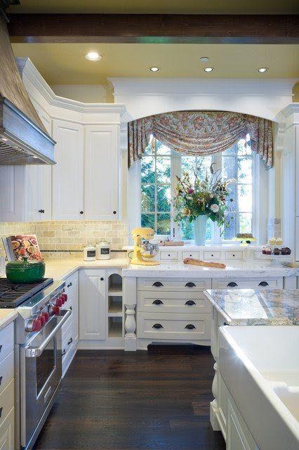 30 Impressive Kitchen Window Treatment Ideas  Interior Design Glamorous Window Treatment Ideas For Kitchen Inspiration Design