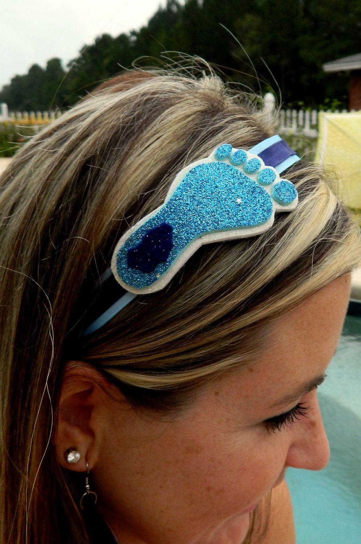 North Carolina Tarheel Glitter headband by MissPrissHeadbands, $9.00
