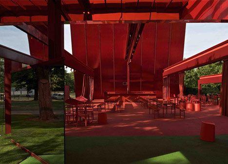 Serpentine Pavilion by Jean Nouvel