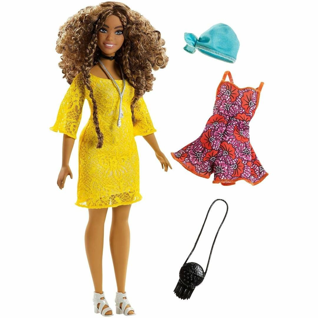 Barbie fashionistas doll 10 kitty dress